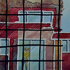 THE HOUSE BEHIND THE WIRE MESH