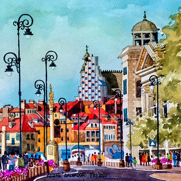 KRAKOWSKI PRZEDMIESCE STREET, WARZAW, POLAND