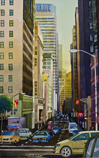 LOWER PINE STREET, SAN FRANCISCO