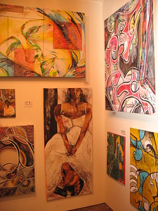 work i showed spring multimedia Art Show...Austin tx