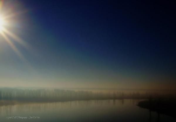 Morning Fog - Cape Fear River, Wilmington, NC