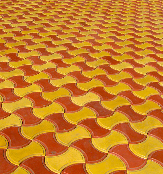 Yellow & Orange Waves