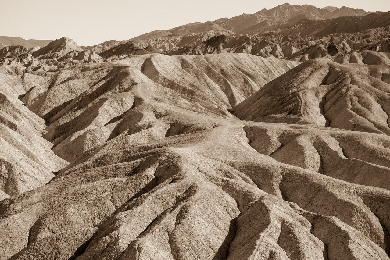 Formations at Zabriskie, Death Valley NP