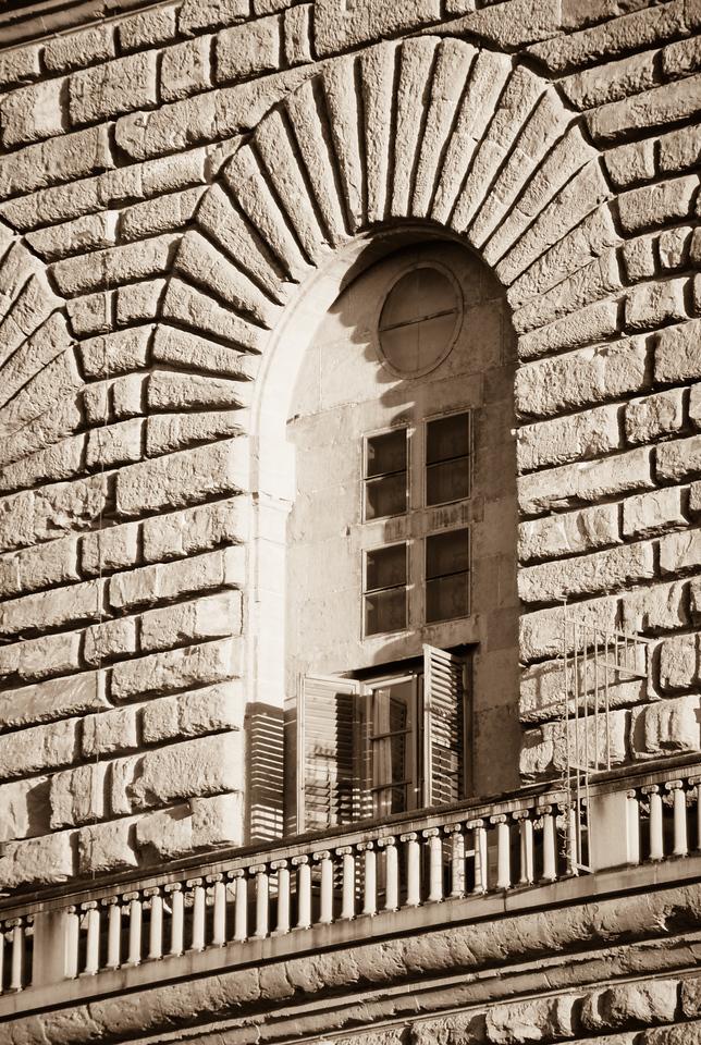 Stonework, Pitti Palace, Florence, Italy