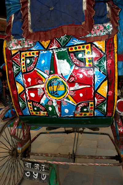 Colorful Cart in Kathmandu