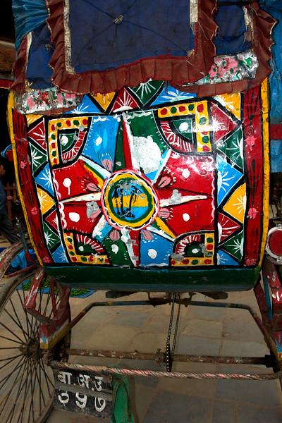 Colorful Cart in Kathmandu