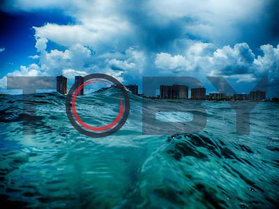Waves over Fort Lauderdale