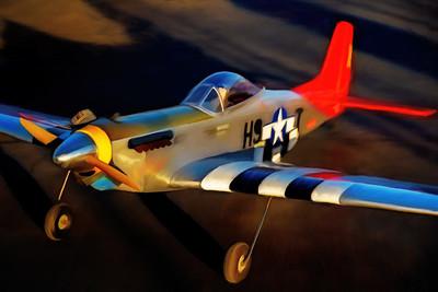 Plane P1085309 ART painted