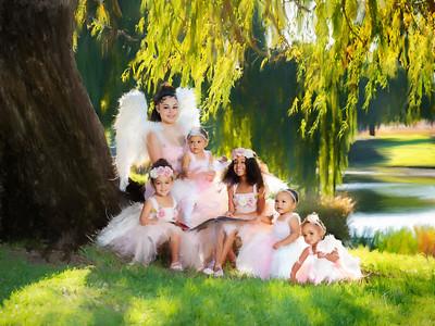 Fairies Painted