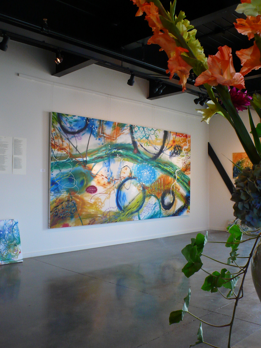 "Installation view of ""Navigator"" at exhibition, September 2012 at The Cannery, Port Townsend, WA."