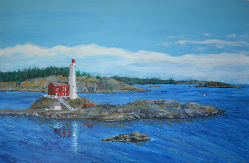 SUMMER AT FISGARD LIGHTHOUSE