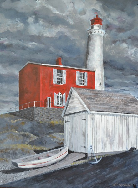 STORM IS COMING (FISGARD LIGHTHOUSE)
