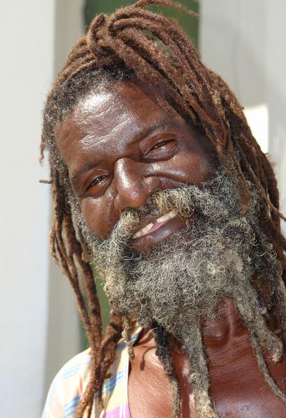 Man with Dredlocks, St. Thomas, U.S. Virgin Islands