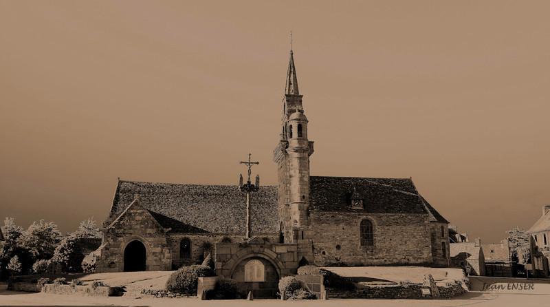 Eglise et calvaire de Guimaëc