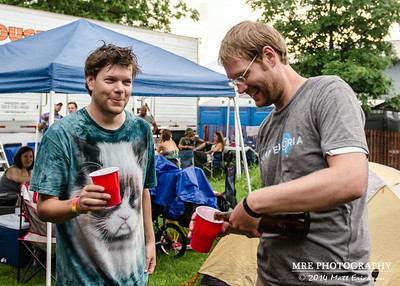 Kyle Hollingsworth Beer Tasting - Camp Euforia 2014