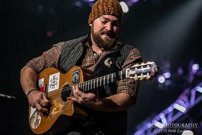 Zac Brown Band - iWireless Center 12/16/13