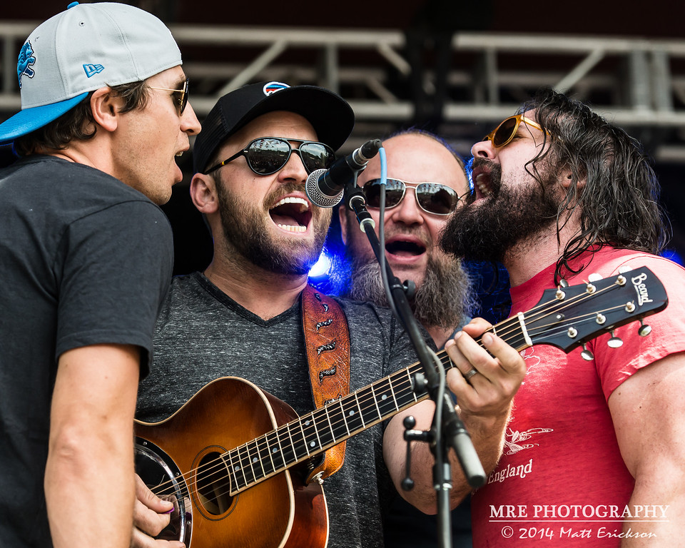 Summer Camp Music Festival 2014 - Yonder Mountain String Band with Zac Brown Band