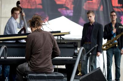 Gerald Clayton with Brubeck Institute Quintet  2009