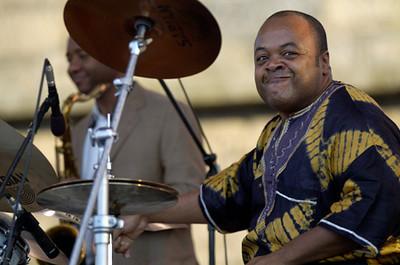 "Jeff ""Tain"" Watts  2007   http://chambersoftain.com/ www.myspace.com/tainish www.drummerworld.com/drummers/Jeff_Tain_Watts.html"
