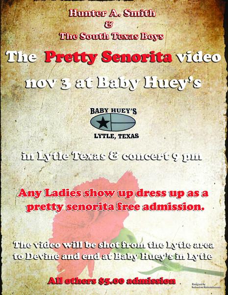 2012 Pretty Senorita Hunter A Smith 85x11-Flyer