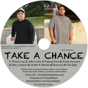 2013 Dane Take a Chance Music Albums