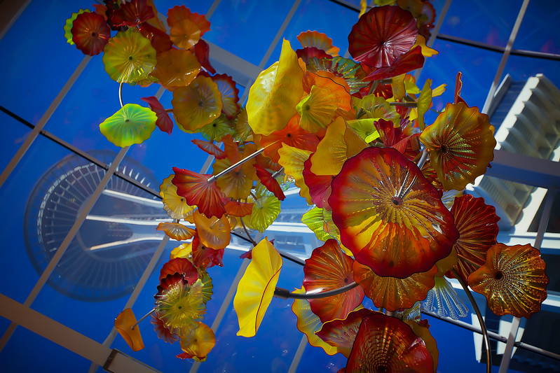 SEATTLE SPACE NEEDLE -  CHIHULY GARDEN