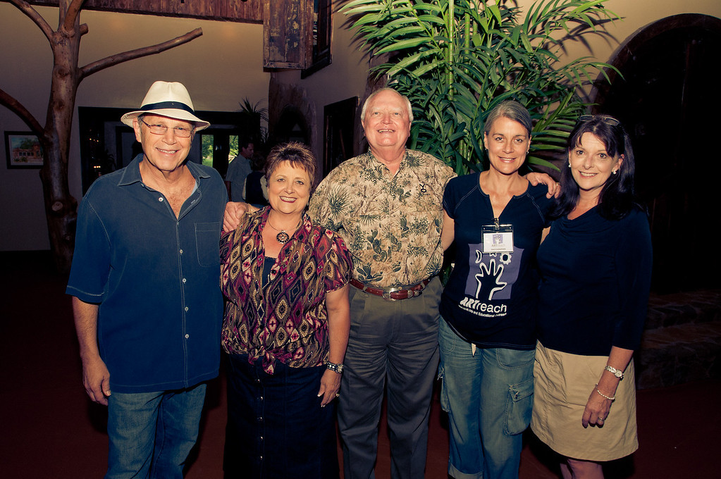 Michael Clay, Ida Fae and Don Elder, Terri Bieber, Carol Adams