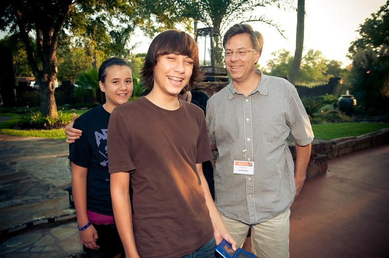 Claire, Topper and Scott Bieber