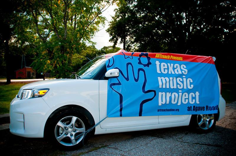 ARTreach Scion donated by Don McGill Scion on Katy to help ARTreach Drive the Arts the Katy!
