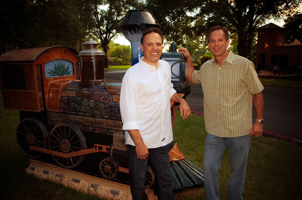 Steve Livingston and Shelton Craig- All Aboard Katy! Katy Heritage Society's cultural tourism TRAIN project! Get on board!