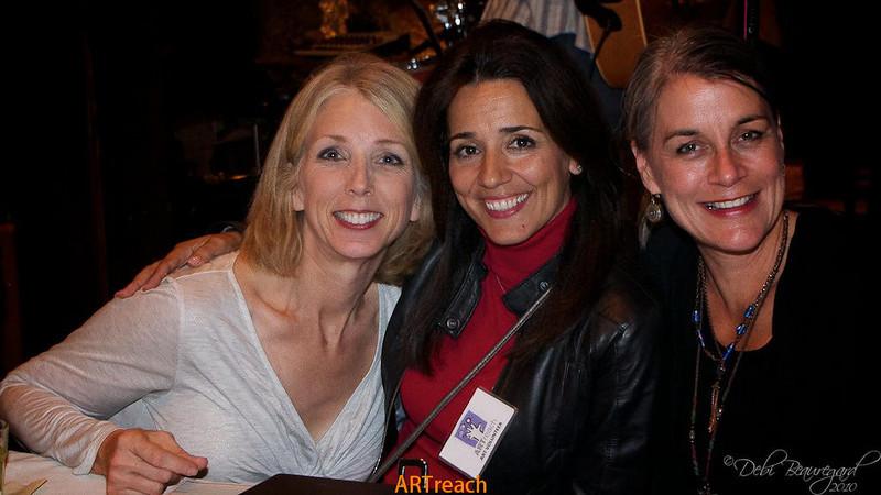 ARTreach Texas Music Project crew - Christine Stilwell, Fatima Donaldson & Terri Bieber