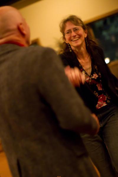 enjoying the dancing!