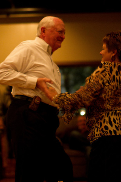 Mayor Don Elder and wife, Ida Faye cut a rug!