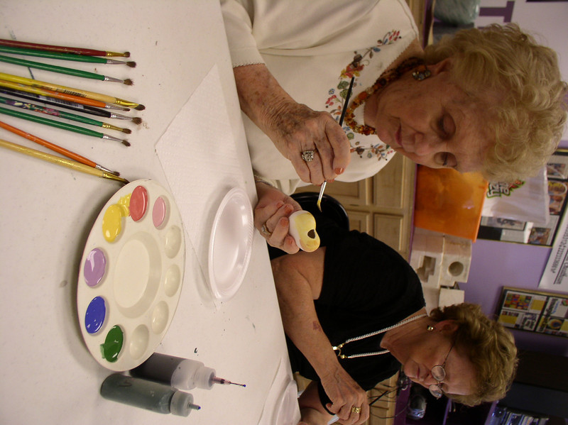 The ARTreach Studio- free ceramics for seniors in assisted living