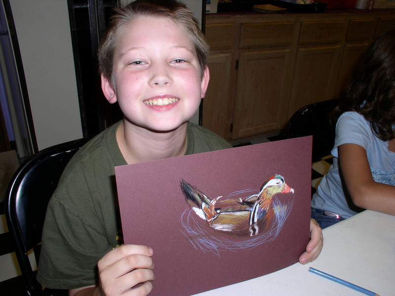 Gifted and talented art students in Katy are awarded free art workshops led by Elizabeth Linder each summer
