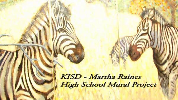 Raines High School Mural