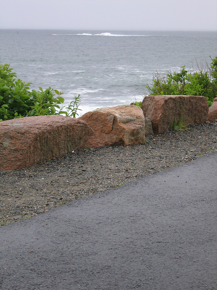 14 Sidewalk at Thunder Hole MS