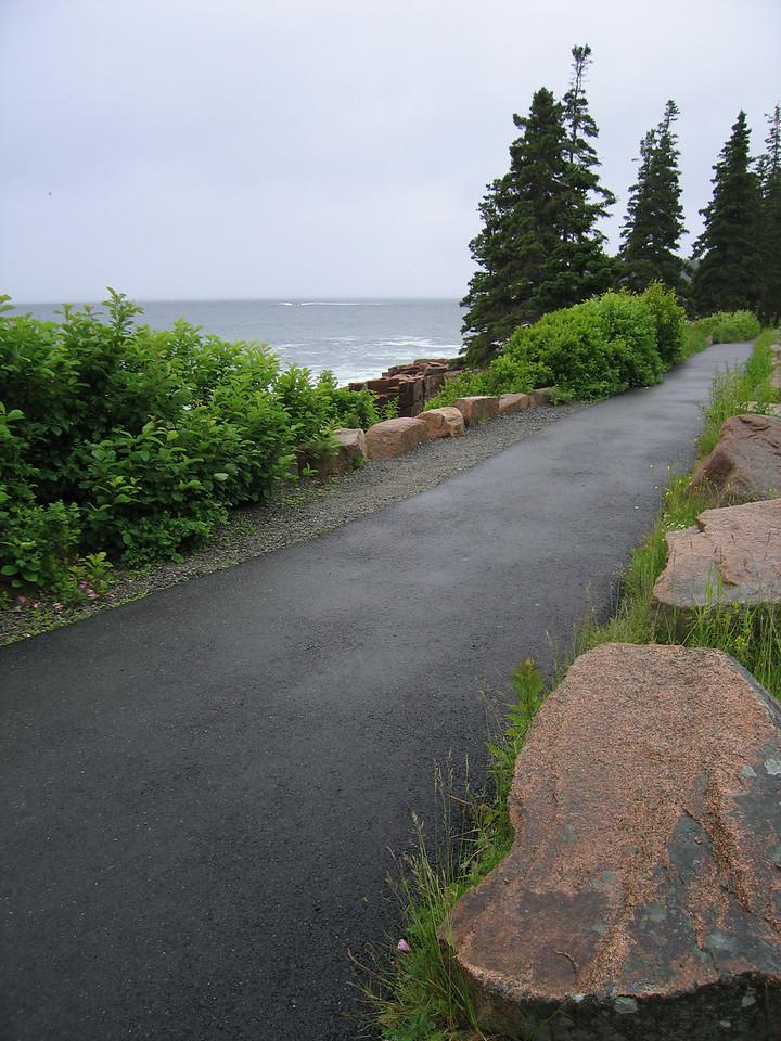 13 Sidewalk at Thunder Hole