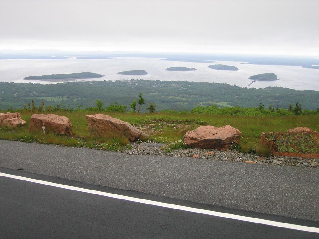20 Road, Walkway and Rock Barriers