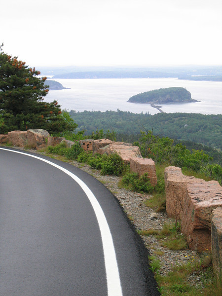 18 Whale Island with Road and Rock Barrier