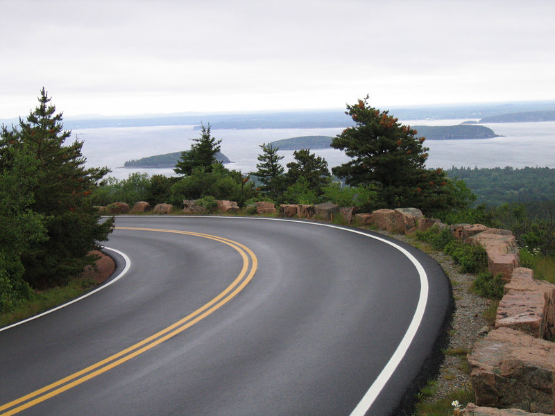 08 Access Road with Ocean and Islands