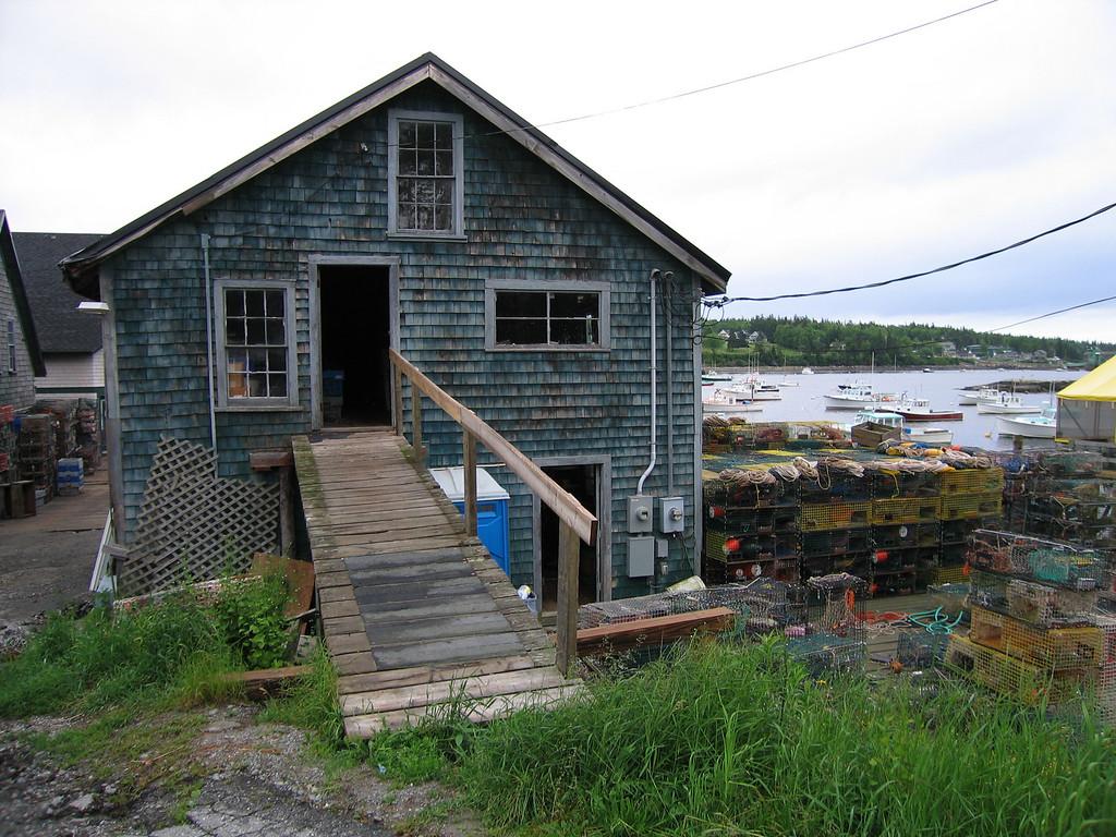 06 Bernard Lobster Dock and Harbor