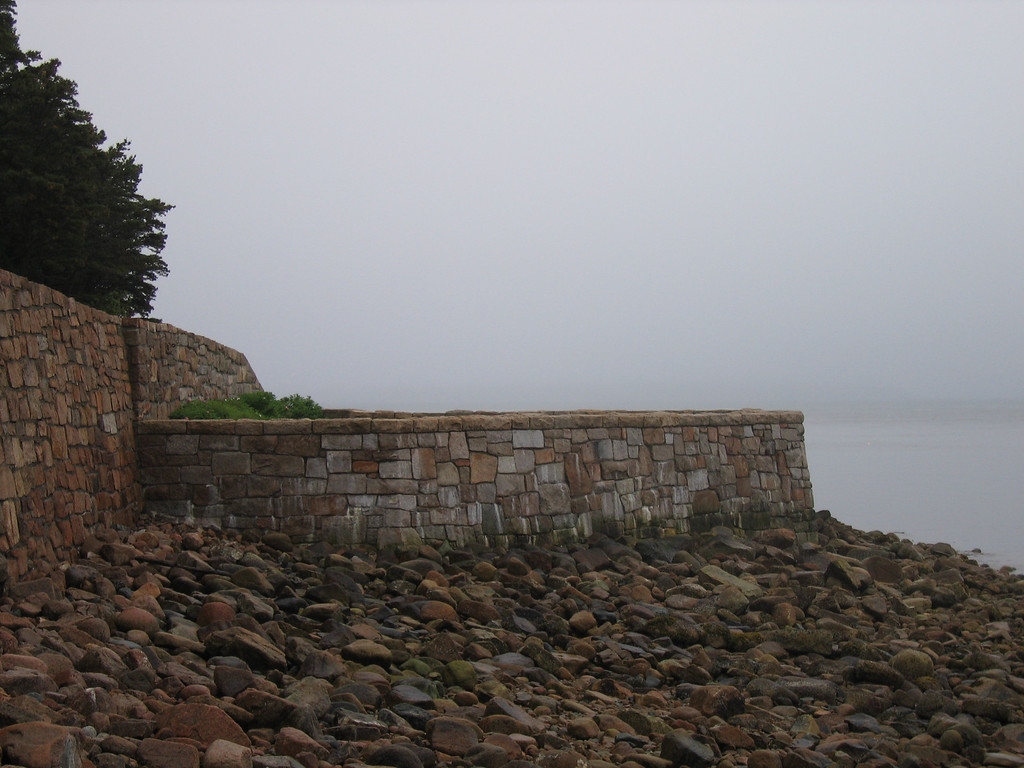 50 Rock Structure at Boat Access
