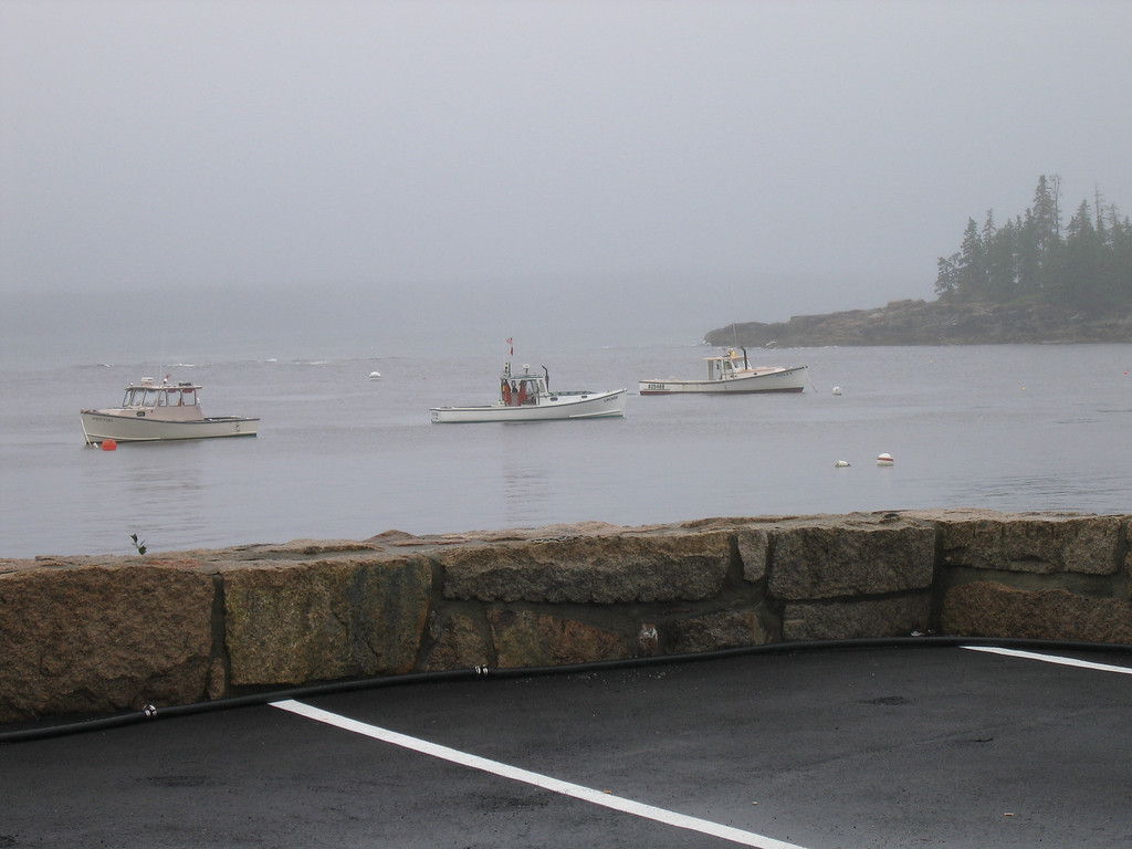 12 Harbor with Lobster Boats