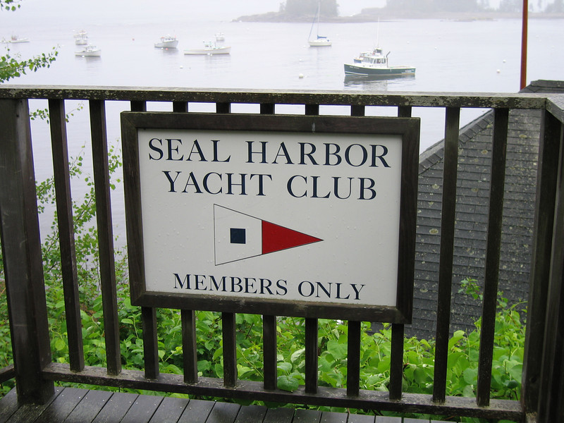 40 Seal Harbor Yacht Club Gate