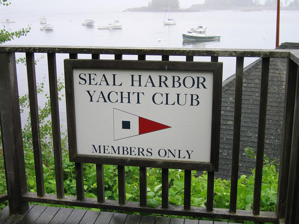 40 Seal Harbor Yacht Club Gate