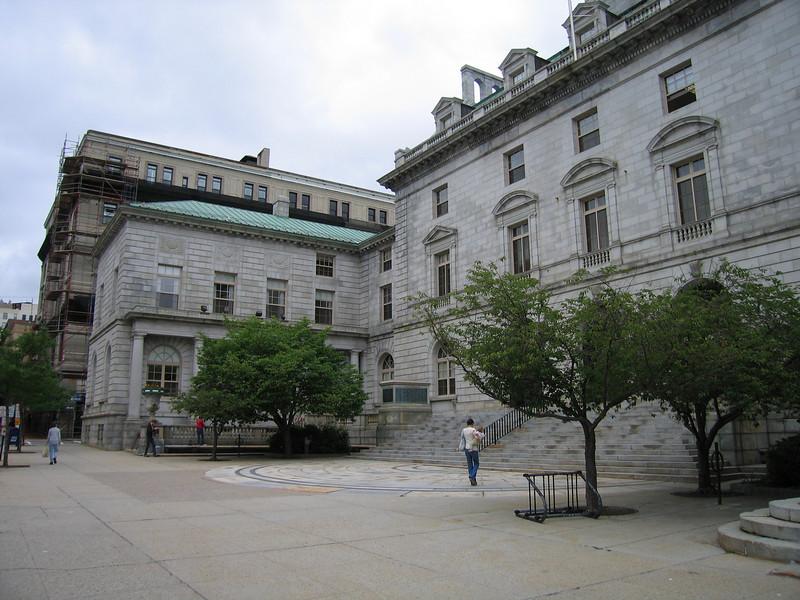 34 City Hall sidewalk