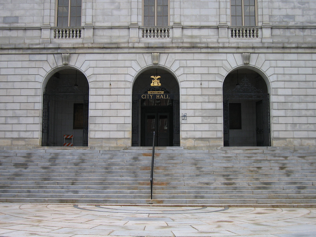 35 City Hall Entry