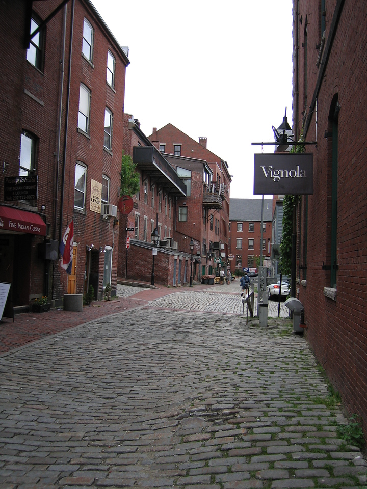 28 Wharf Street Looking North