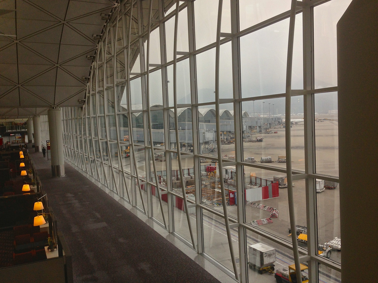 Hong Kong International Airport is also known as Chek Lap Kok Airport, being built on the island of Chek Lap Kok by land reclamation.<br /> <br /> HKIA also operates one of the world's largest passenger terminal buildings (the largest when opened in 1998) and operates 24 hours a day. It is the primary hub for Cathay Pacific, Dragonair, Hong Kong Airlines, Hong Kong Express Airways and Air Hong Kong (cargo). <br /> <br /> HKIA is an important contributor to the Hong Kong economy, employing approximately 60,000 people. About 90 airlines operate flights from the airport to over 150 cities across the globe. <br /> <br /> In 2011 HKIA handled 53,314,213 passengers, making it the 10th busiest airport worldwide by passenger traffic. It also surpassed Memphis International Airport to become the world's busiest airport by cargo traffic.